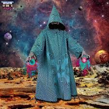 items similar to psychedelic wizard robe customise your own silk