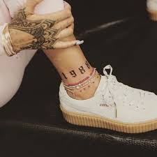 tattoo inspiration rihanna 45 celebrity tattoos and exactly what they mean bang bang tattoo