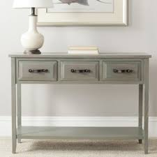 Overstock Sofa Table by Overstock Com Aiden Antique Grey Console Table Pretty Up A
