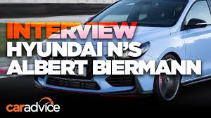 hyundai i30 n we interview n boss albert biermann youtube