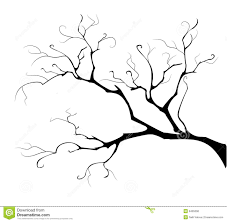 silhouette of the branch tree illustration 8405068 megapixl