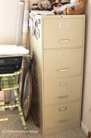 How To Paint A Filing Cabinet File Cabinet Makeover Using Chalk Paint Pretty Handy File