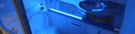 Uv Bathroom Light Boeing S New Self Cleaning Airplane Bathroom Annihilates Microbes