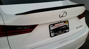 lexus carlsbad internet sales the ebay spoiler should i leave it black or paint it white to