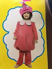 Brobee Halloween Costume Yo Gabba Gabba Deluxe Plex Costume Toddler 3t 4t Halloween Party