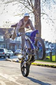 what is a motocross bike on the road with the wheelie kings of cleveland features