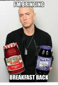 Jelly Meme - imbringing ackers welchs grape jelly strawberry breakfast back