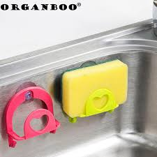 Plastic Kitchen Sinks Organboo 1pc Suction Cup Storage Rack Wall Plastic Kitchen Sinks