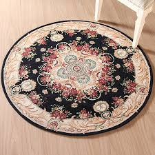 european style carved big living room carpet union jack round