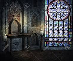 gothic room gothic room background stock photo picture and royalty free image