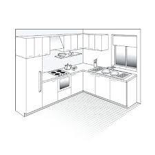 plan de cuisine gratuit plan type cuisine affordable cuisine plan type plan