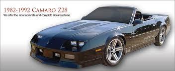 1992 camaro z28 camaro z28 1982 1992 danko reproductions