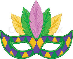 cool mardi gras masks mardi gras mask design stock vector colourbox