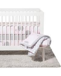Nojo Crib Bedding Set Amazing Deal Nojo Crib Bedding Set 8pc Elephant Pink Gray