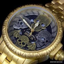bracelet watches ebay images Invicta 48mm bone collector swiss quartz stainless steel bracelet jpg