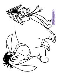 eeyore coloring pages 2 disney coloring book