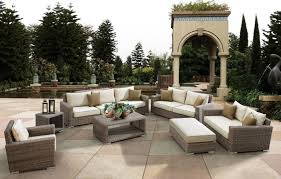 Inexpensive Patio Furniture Sets by Outdoor U0026 Garden Relaxing 4 Piece Black Wicker Patio Furniture