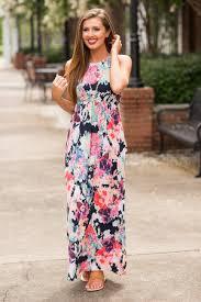 floral maxi dress maxi dresses lace white black print more the mint julep