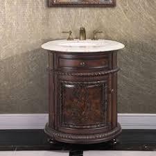 round bathroom vanity cabinets bathroom vanity cabinet copper sink top foyer antique style round