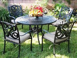 Vintage Wrought Iron Patio Furniture - patio interesting metal patio table metal patio table antique