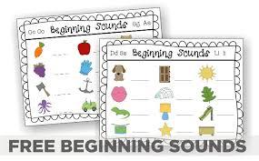 free worksheets beginning sounds worksheet free math