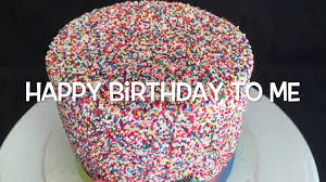 funfetti birthday cake by delicious blessings youtube