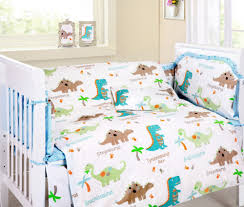 Toy Story Crib Bedding Aussiebuby Baby Bedding Crib Cot Sets 9 Piece Cute Dinosaurs