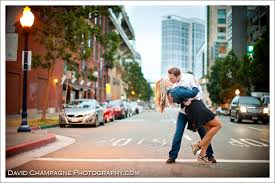 san diego photographers joe and engagement petco park gasl district