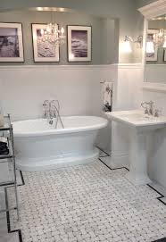 Mirrored Subway Tile Backsplash Bathroom Transitional With by Chicago Subway Tile Bathrooms Bathroom Transitional With Mosaic