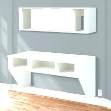 wall mounted floating desk ikea floating computer shelf vintage shelf as floating desk ikea floating