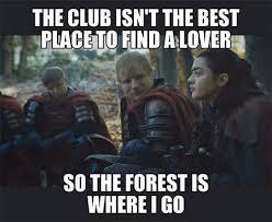 Game Meme - game of thrones meme ed sheeran faut bien rire un peu