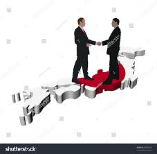 Flag People Business People Shaking Hands On Japan Stock Illustration 49399816
