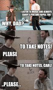 Pen Meme - rick and carl 3 meme imgflip