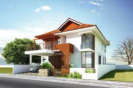 Simple Modern House Exterior Interior Design