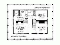 floor plans with porches eplans country house plan two levels of wraparound porches
