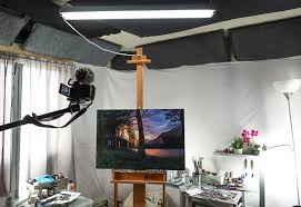 what is the best lighting for lighting your studio which lights to use for painting and