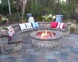 Custom Gas Fire Pits - patio ideas built in fire pits designs custom built outdoor fire