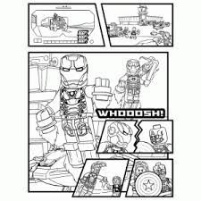 lego marvel avengers coloring pages kids