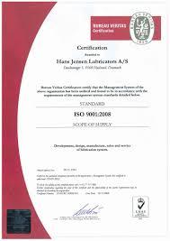 bureau v itas certification certifications hans lubricators