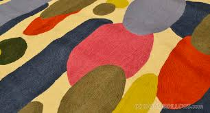 Red Oval Rug Color Oval Swatch Wool Rug Wall Tapestry Hand Embroidered 6ft X