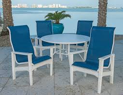 Sling Outdoor Chairs Pool U0026 Patio Furniture Grosfillex Furniture Outdoor Restaurant