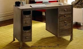 bureau secr aire bois bureau secretaire bois bureau secretaire loft 8 tiroirs bois massif