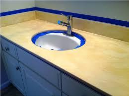 Best Countertop For Bathroom Best Painted Countertops Home Inspirations Design
