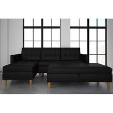 Sleeper Sofa With Chaise Lounge Chaise Sofa Sleeper Sectional Sofas You Ll Wayfair