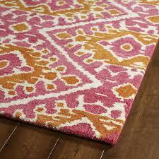 Pink Runner Rug Tufted De Boho Pink Runner