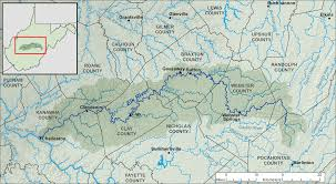 Virginia Rivers Map by File Elk River Wv Map Png Wikimedia Commons