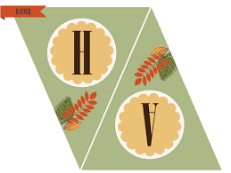printable banners for thanksgiving happy thanksgiving