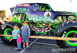 monster truck jam anaheim funky polkadot giraffe five awesome monster jam tips and tricks