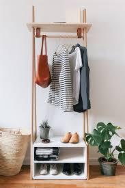 Wardrobe Racks 2017 decorative clothing rack design Wooden