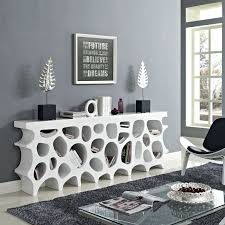 modern furniture boca raton abele white modern console table contemporary console table